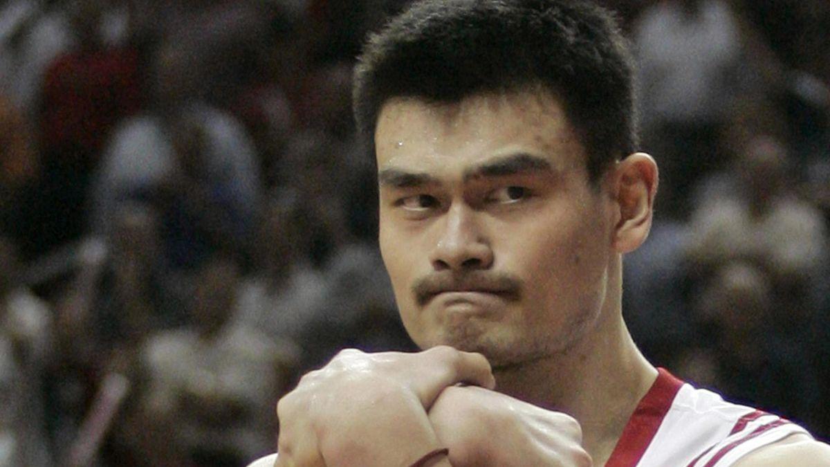 BASKETBALL; Yao Ming; Houston Rockets; NBA, 2007
