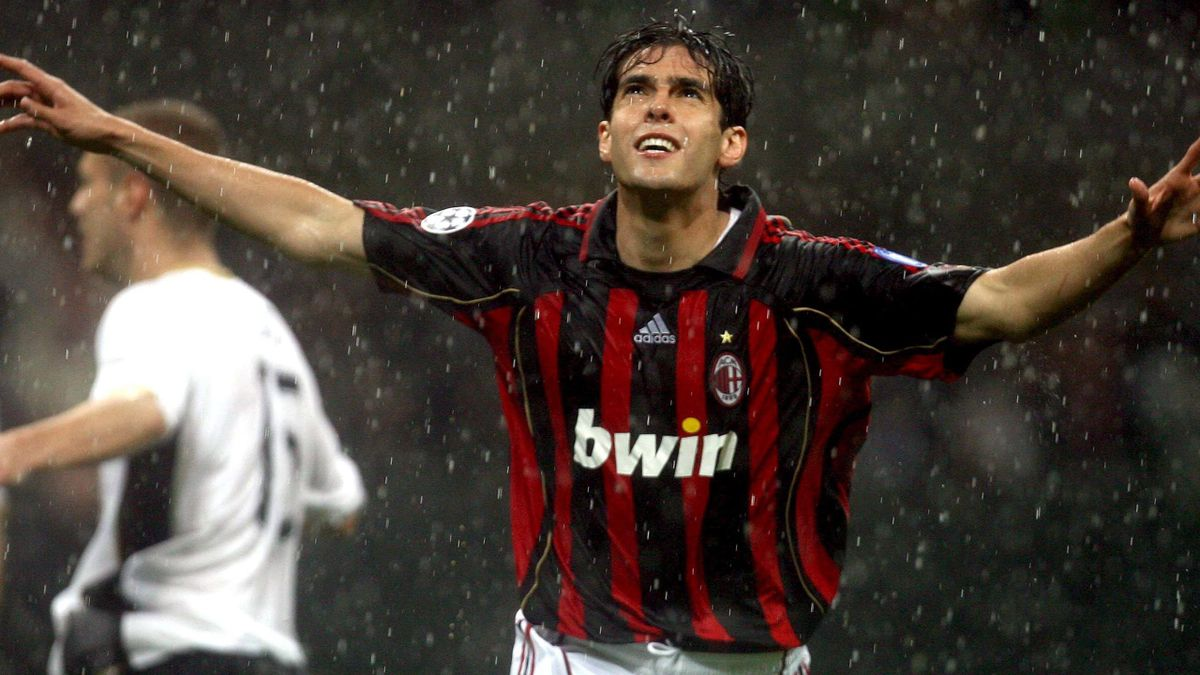 FOOTBALL 2006-2007 Champions League Milan Milan-Man United Kaka