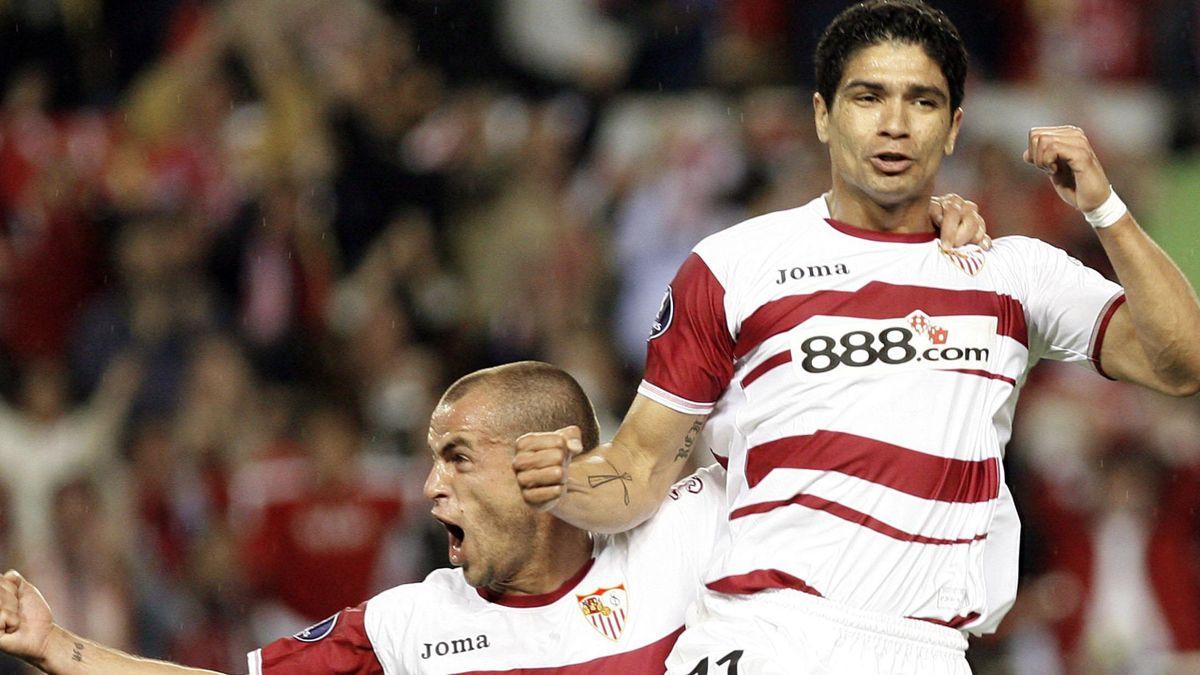 FOOTBALL 2006-2007 UEFA Cup Sevilla-Osasuna Renato Duda
