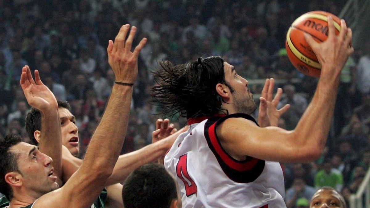 BASKETBALL 2006-2007 Euroleague TAU Ceramica PAO Scola
