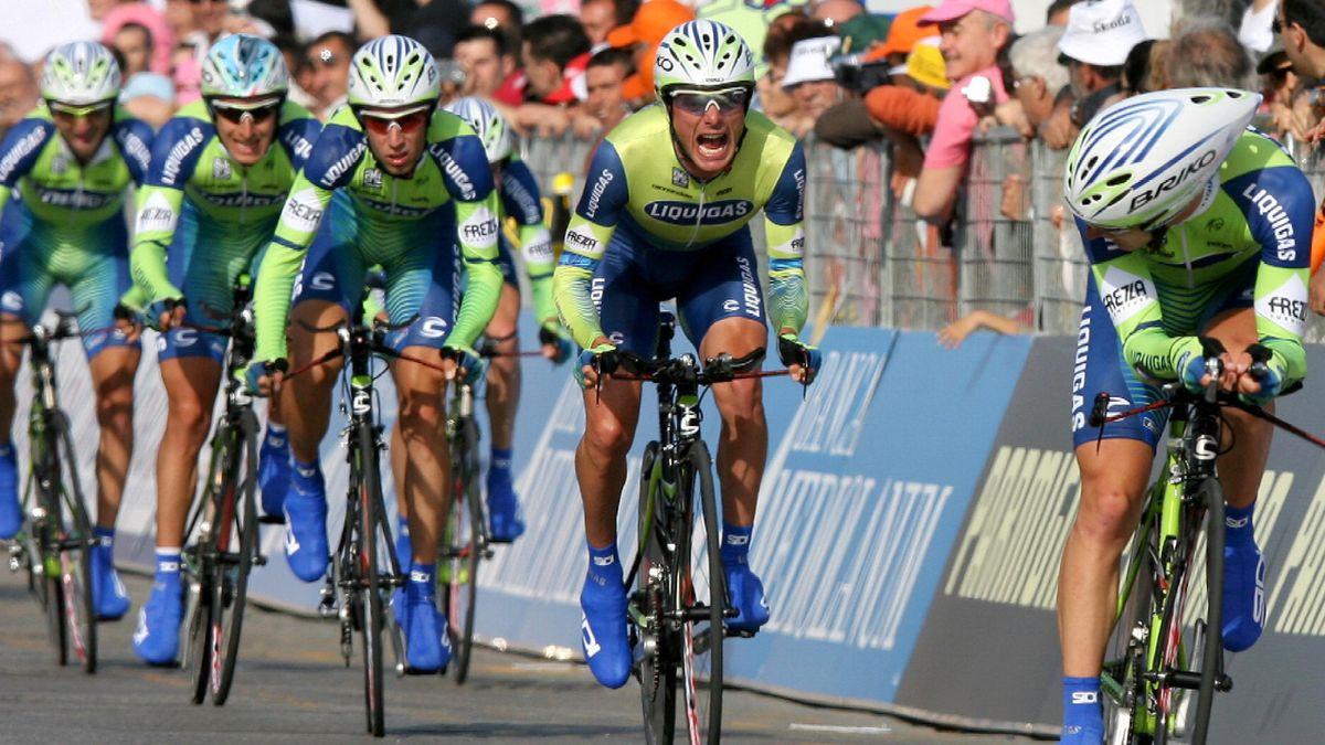 CYCLING: Giro d'Italia 2007; Liquigas