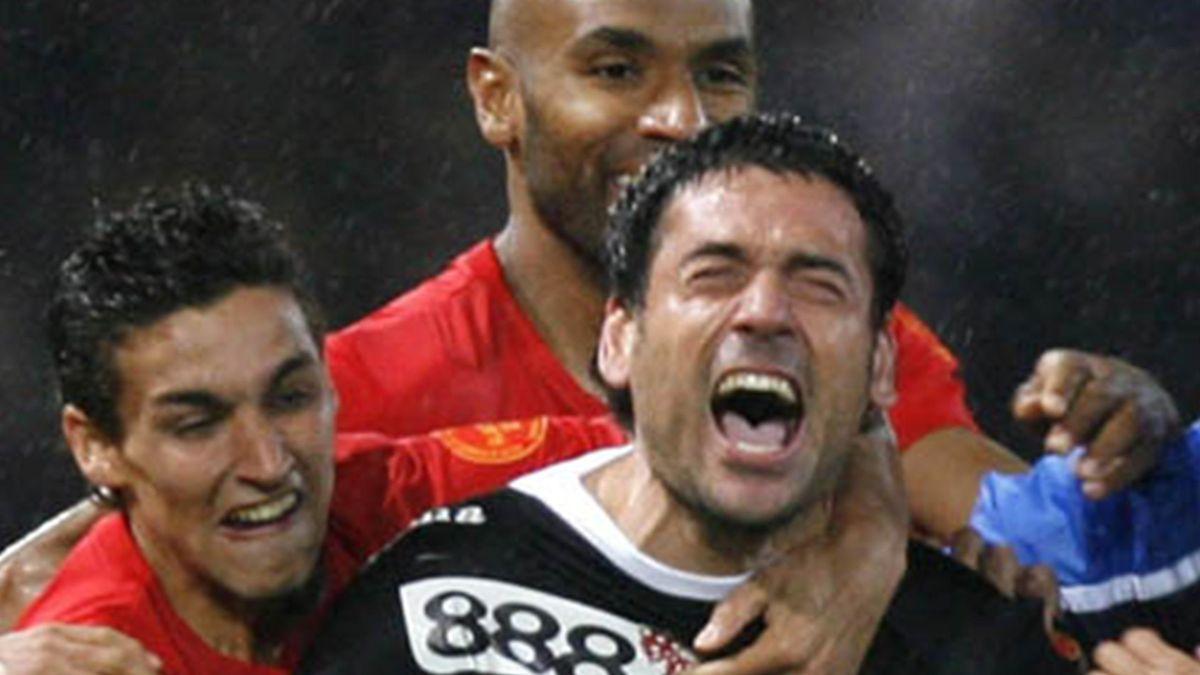 FOOTBALL 2006-2007 UEFA Cup Espanyol-Sevilla Palop