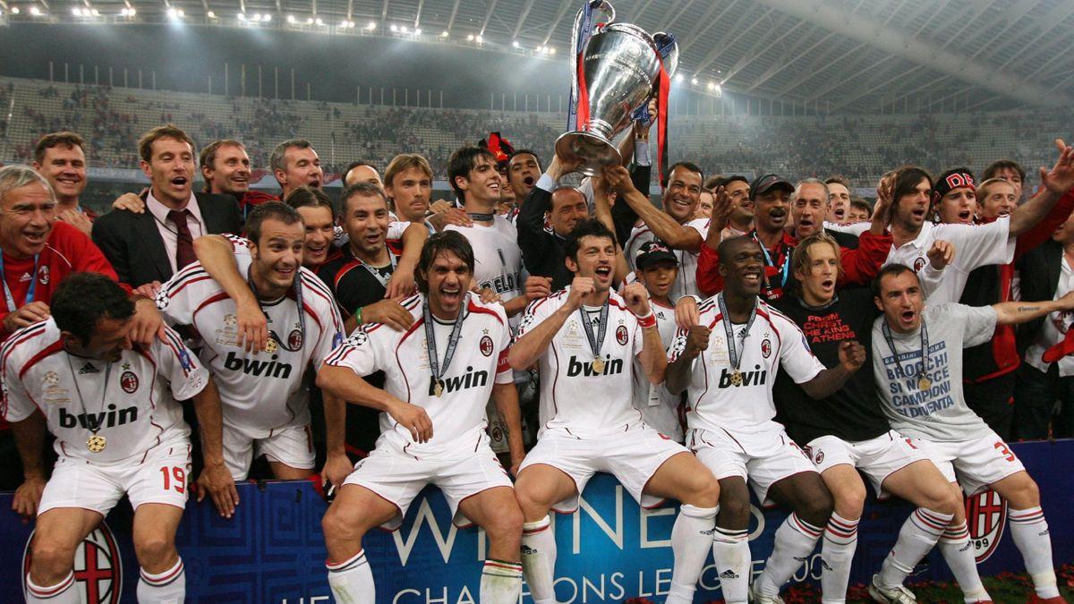 FOOTBALL 2006-2007 Champions League Milan Trophy