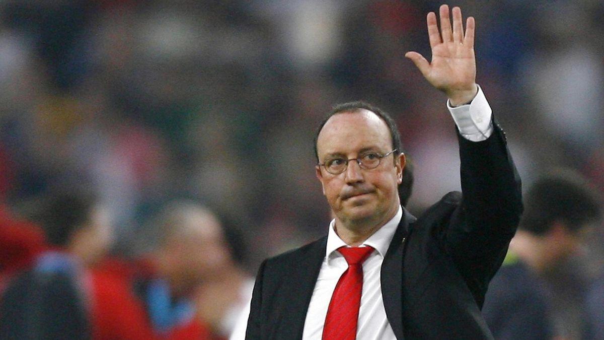 FOOTBALL 2006/7 Champions League Liverpool Rafael Benitez