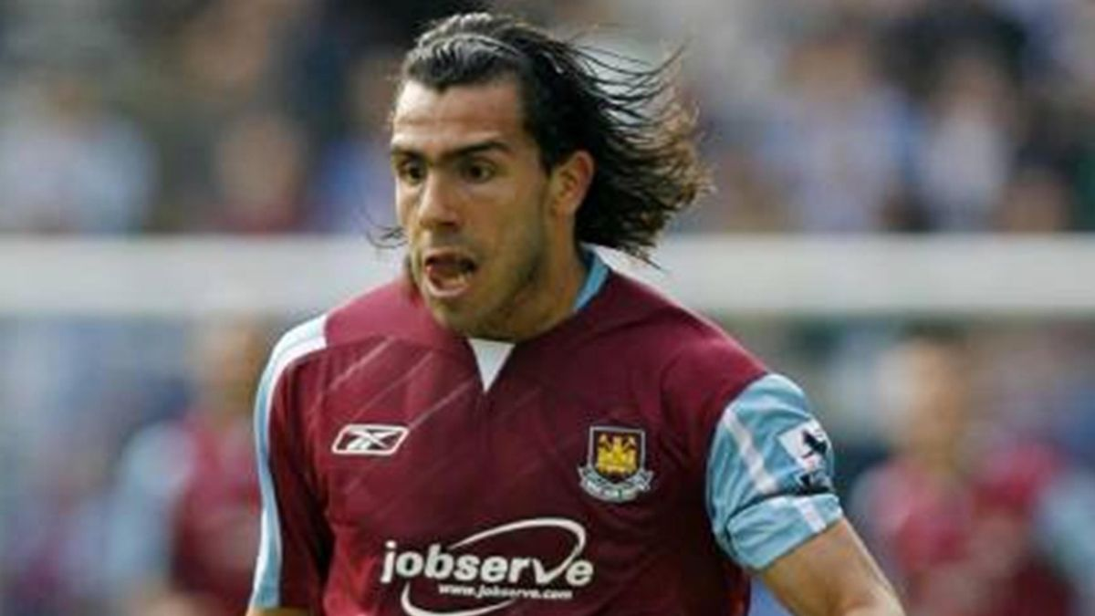 FOOTBALL 2006/07 Premiership West Ham Tevez