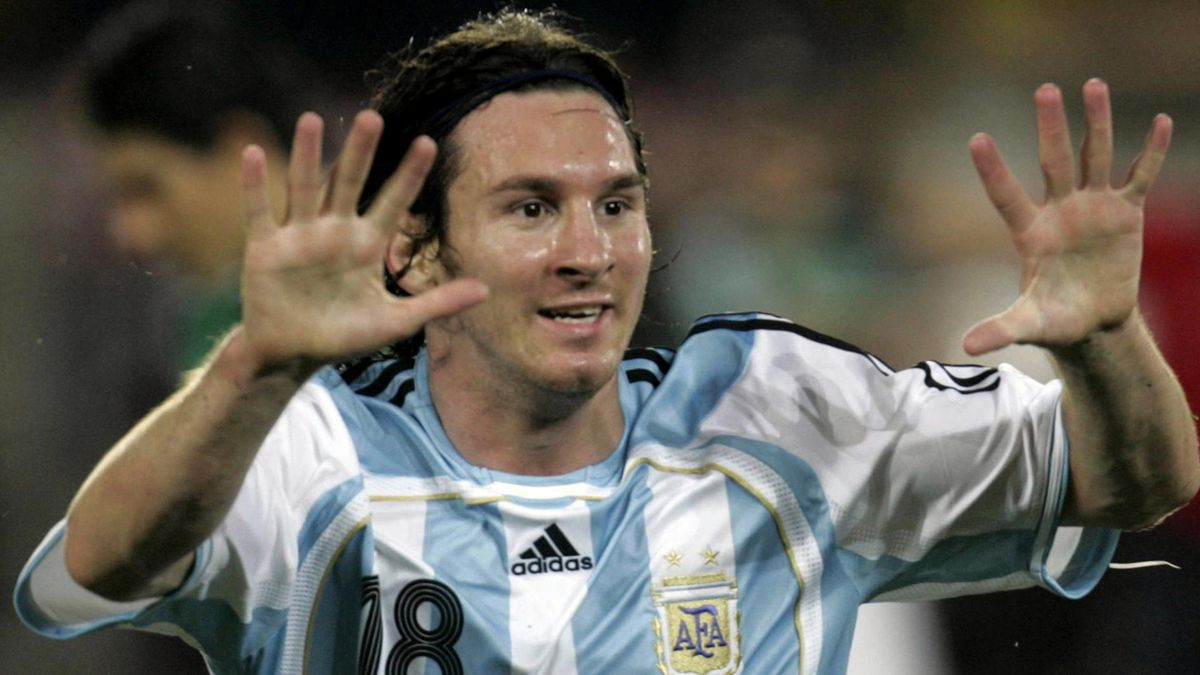 FOOTBALL 2007 Copa America Argentina Lionel Messi