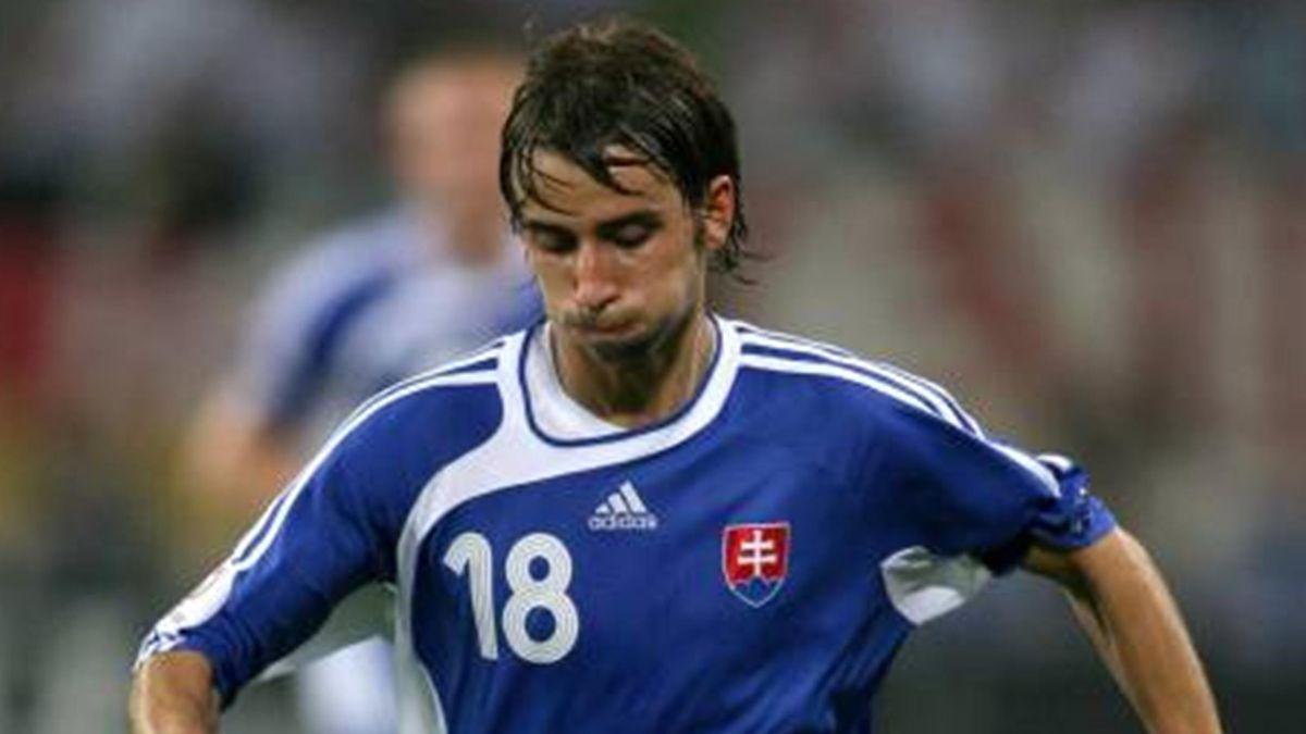 FOOTBALL Dusan Svento Slovakia