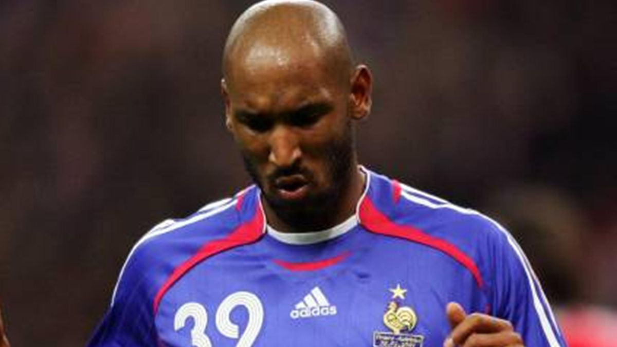 FOOTBALL 2006-2007 Nicolas Anelka France
