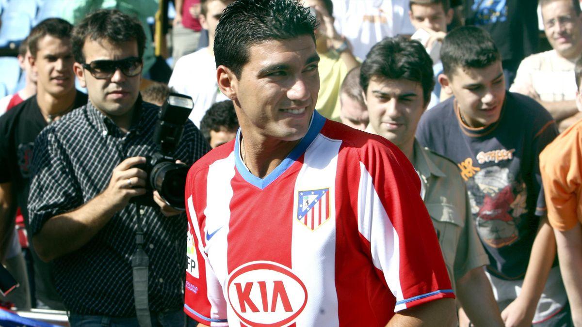 FOOTBALL 2007-2008 La Liga Atlético de Madrid Presentación de José Antonio Reyes