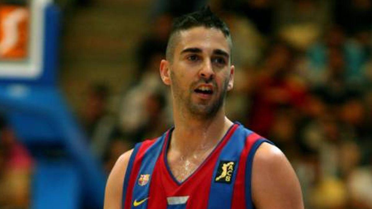 BASKETBALL 2007 Winterthur Barcelona Juan Carlos Navarro