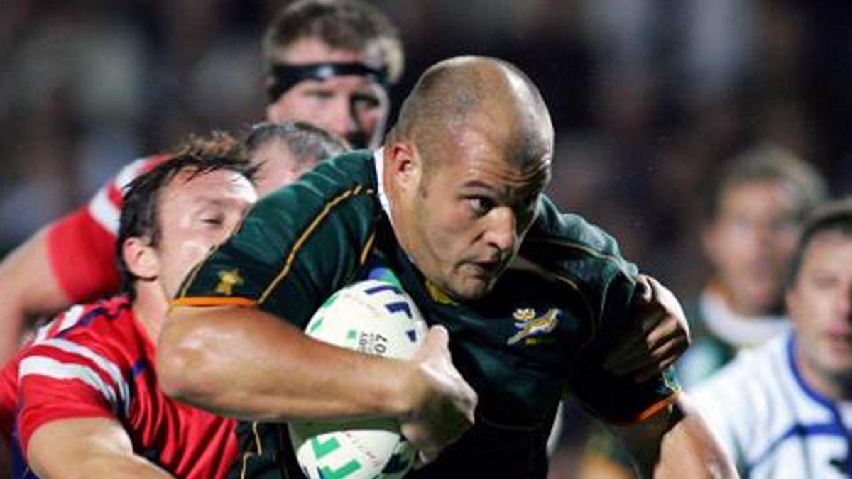 CJ van der Linde - South Africa