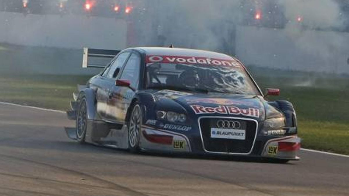 DTM 2007 Hockenheim II Mattias Ekstrom Abt Audi