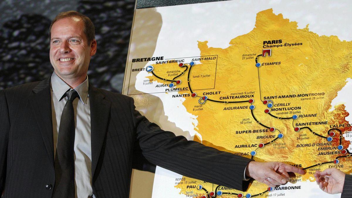 CYCLING 2007 Tour de France Christian Prudhomme