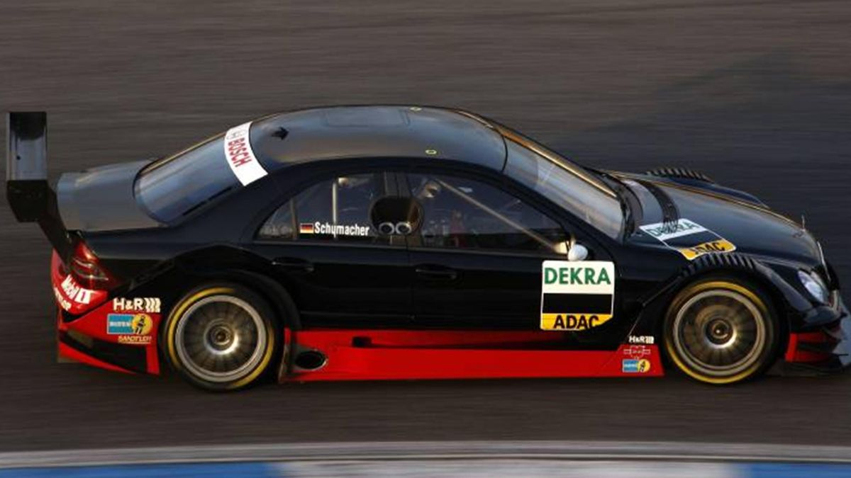 DTM 2008 Season 2008 Ralf Schumacher AMG Mercedes Estoril test