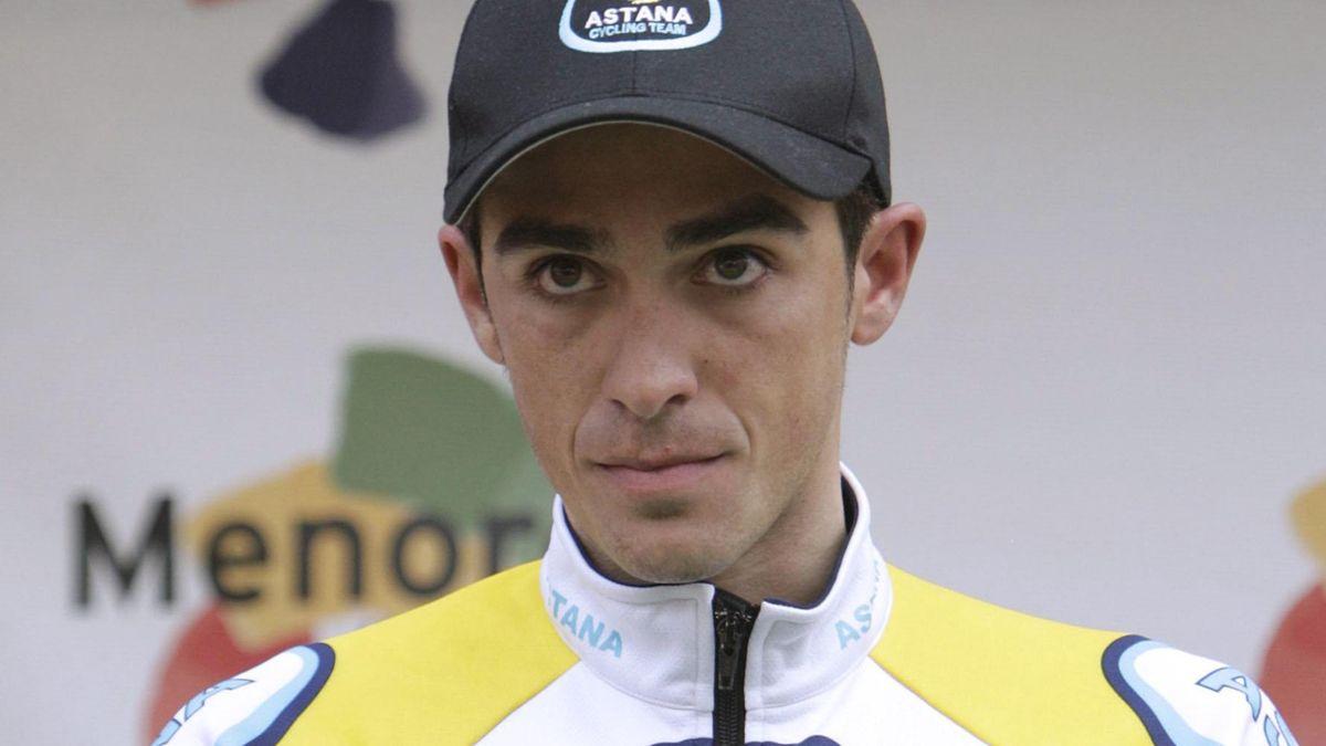 CYCLING 2008 Alberto Contador Astana