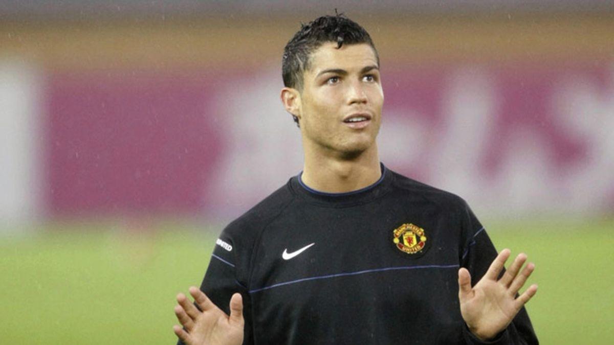 Cristiano Ronaldo a evoluat la Manchester United în perioada 2003-2009