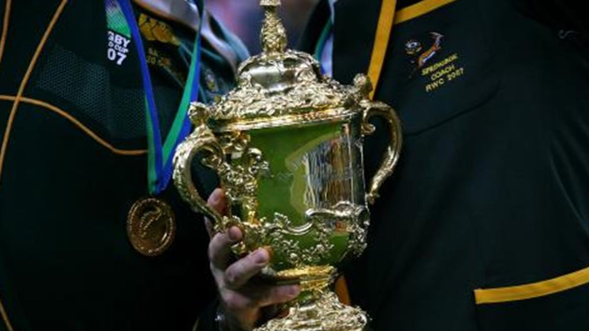 RUGBY World Cup - The Webb Ellis Trophy