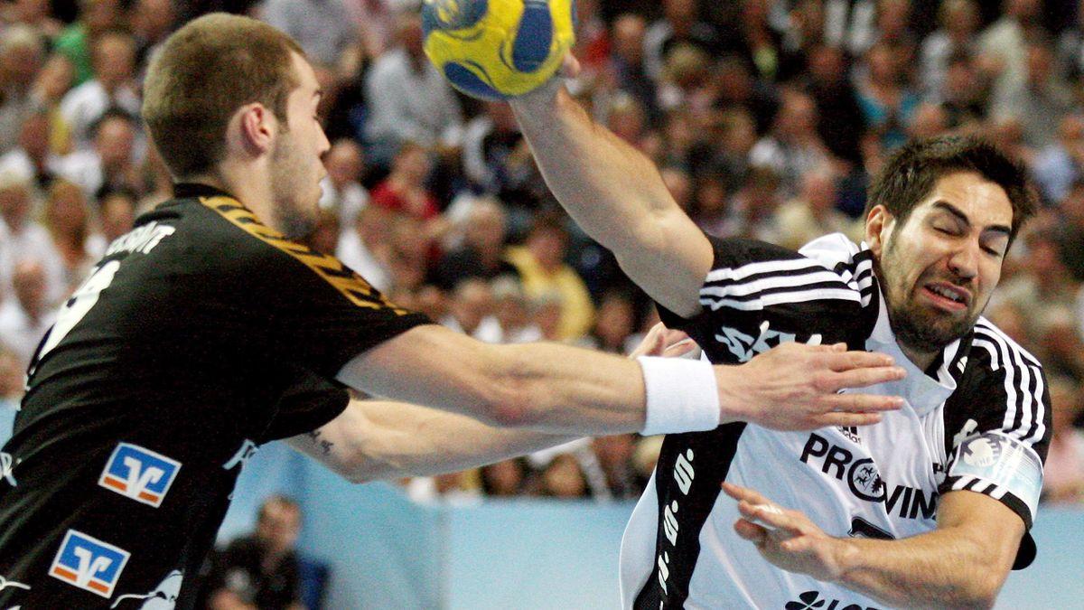 HANDBALL 2008/2009 Champions League Kiel Rhein-Neckar Löwen