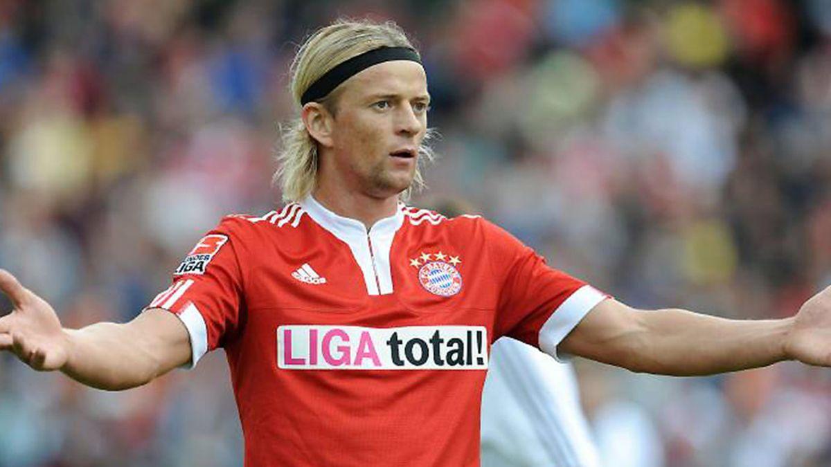 FOOTBALL 2009-2010 Bundesliga Bayern München Timoschuk