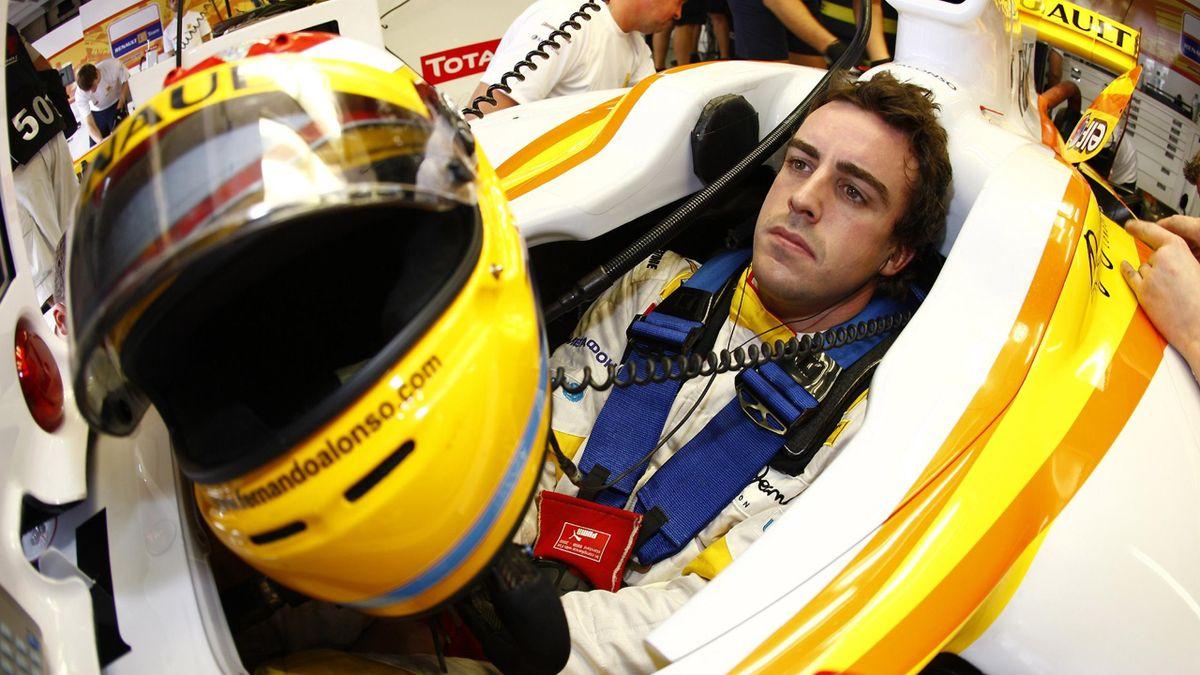 2009 Brazilian GP Renault Alonso