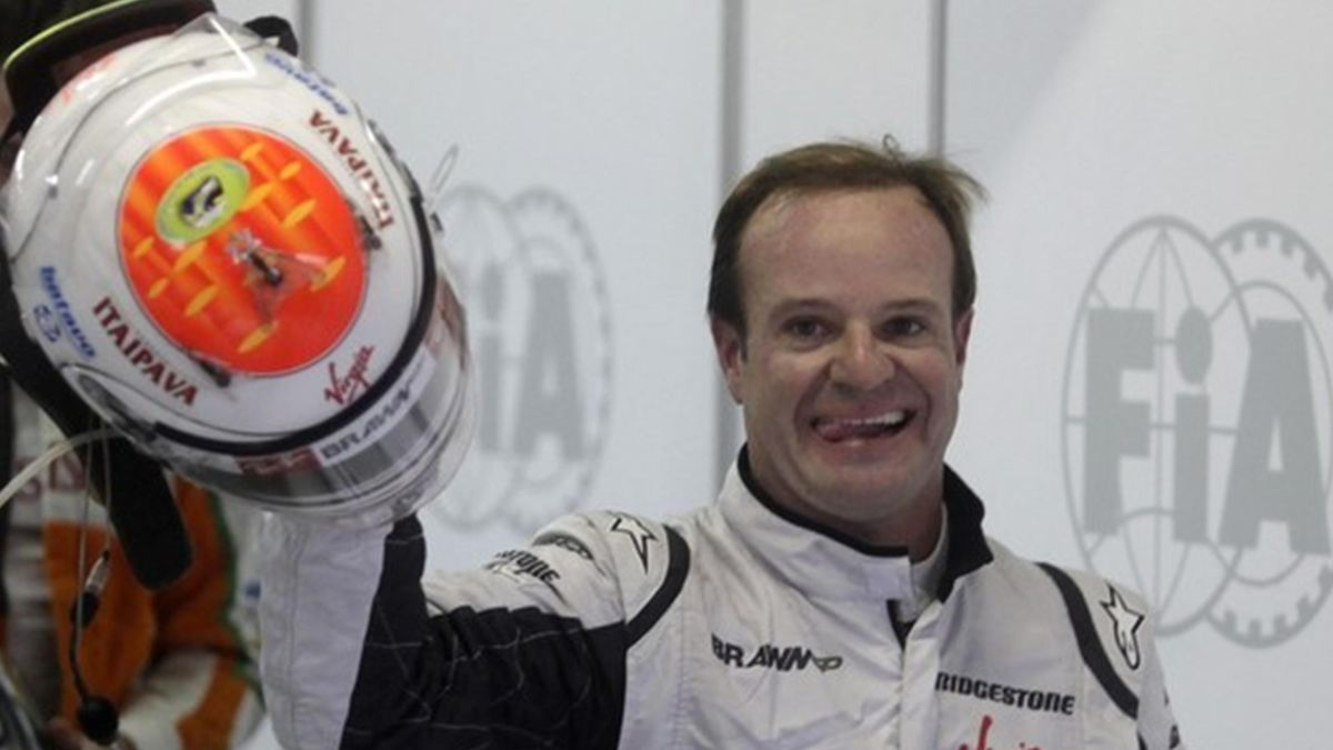 Rubens Barrichello Interlagos Formula One 2009