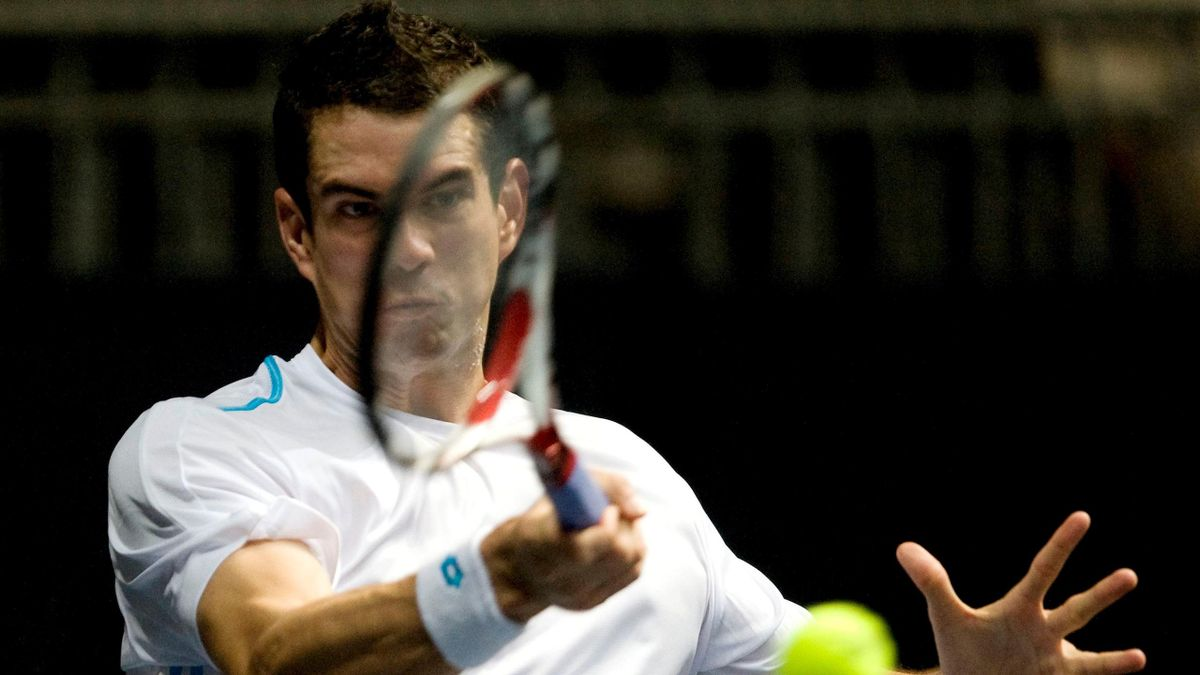 TENNIS ATP Valencia Guillermo García-López Foto:EFE