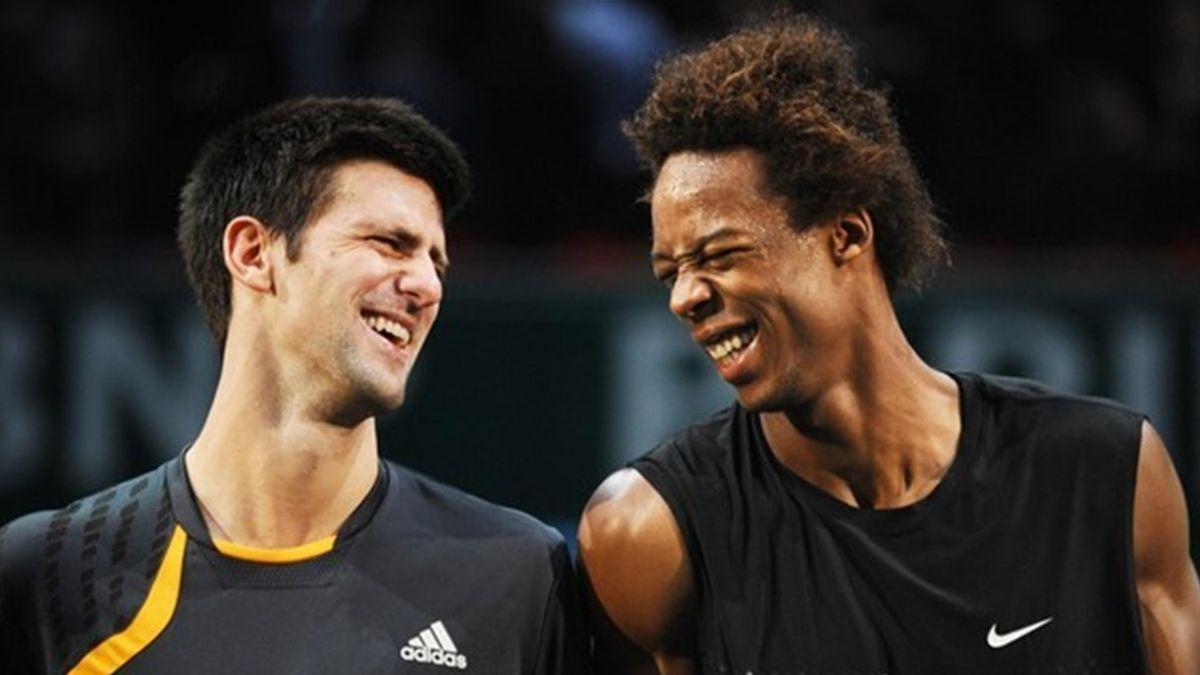 Novak Djokovic & Gael Monfils