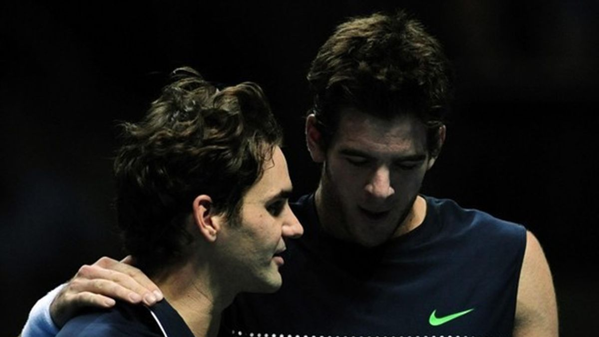 TENNIS 2009 Masters Cup - Federer et Del Potro