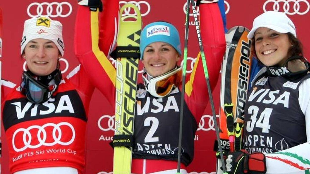 ALPINE SKIING 2009-2010 Aspen Zettel Hoelzl Brignone