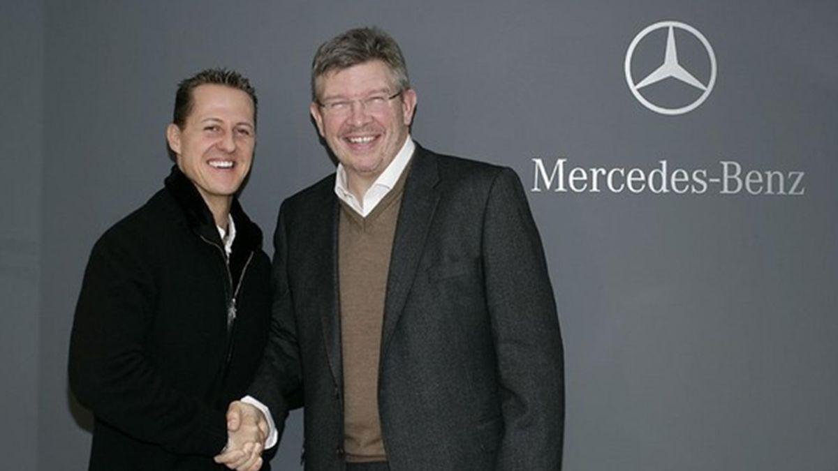 2010 Mercedes Schumacher Brawn