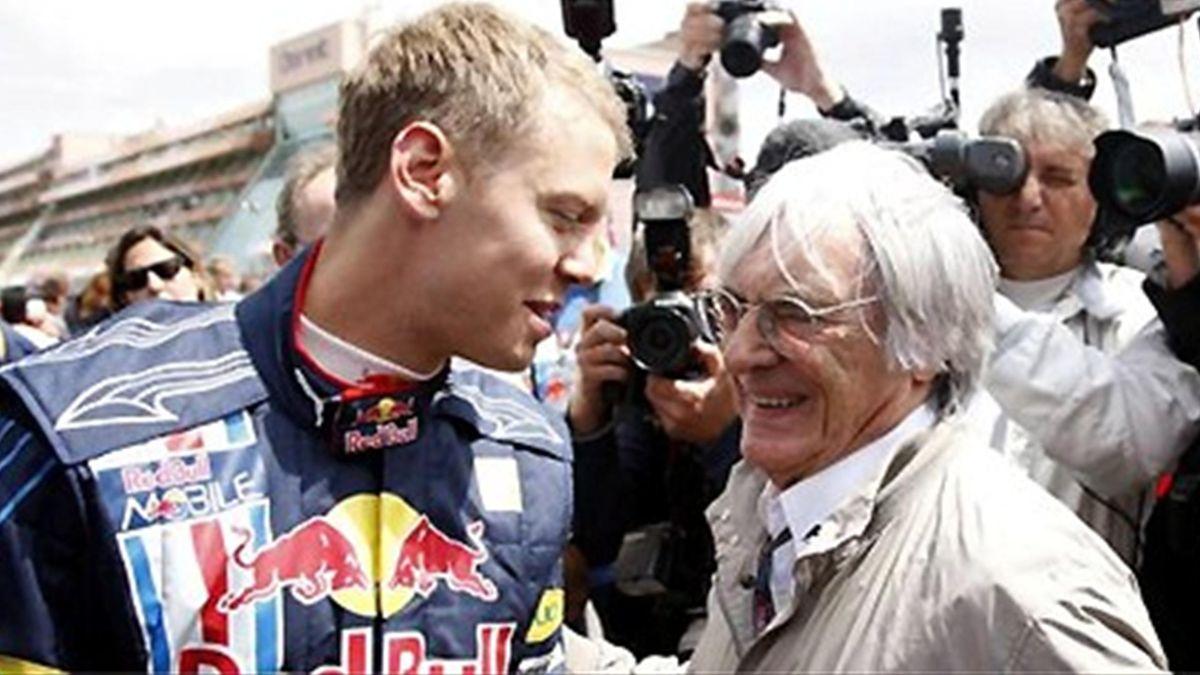Bernie Ecclestone Sebastian Vettel