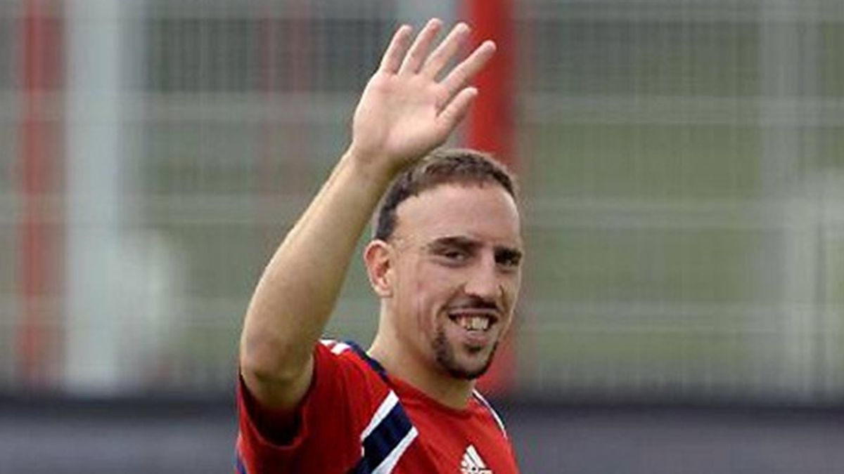 FOOTBALL Bayern Ribery 2009