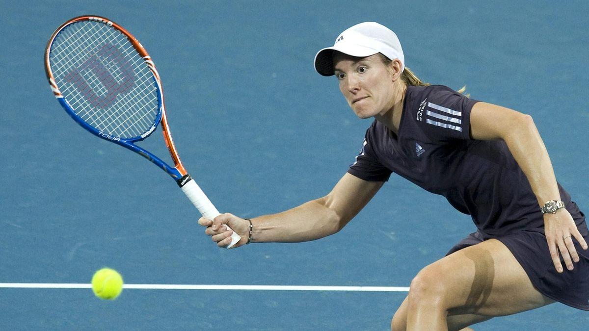 Justine Henin 2010 Brisbane
