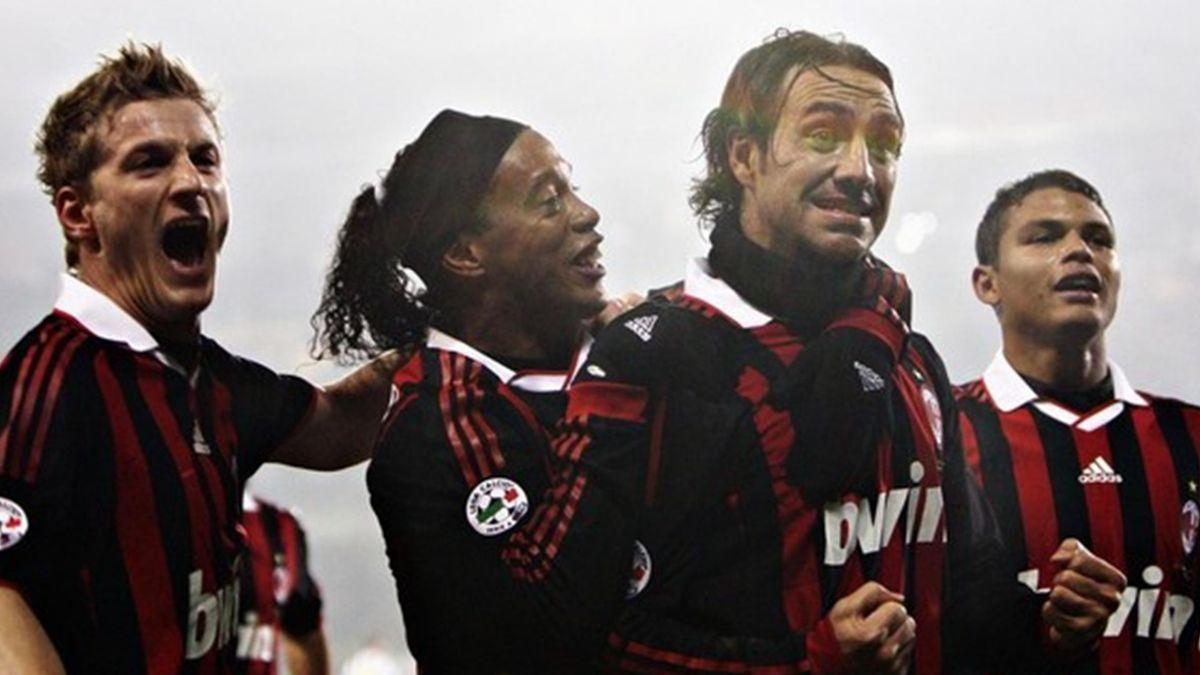 Serie A 2009-10 Juventus Milan Ronaldinho Nesta