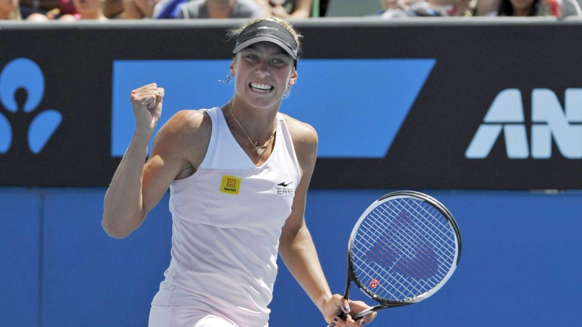 Yanina Wickmayer Australian Open 2010 2. Runde