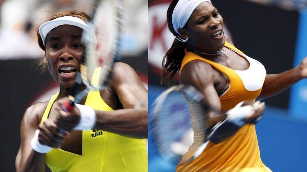 Serena and Venus Williams AO