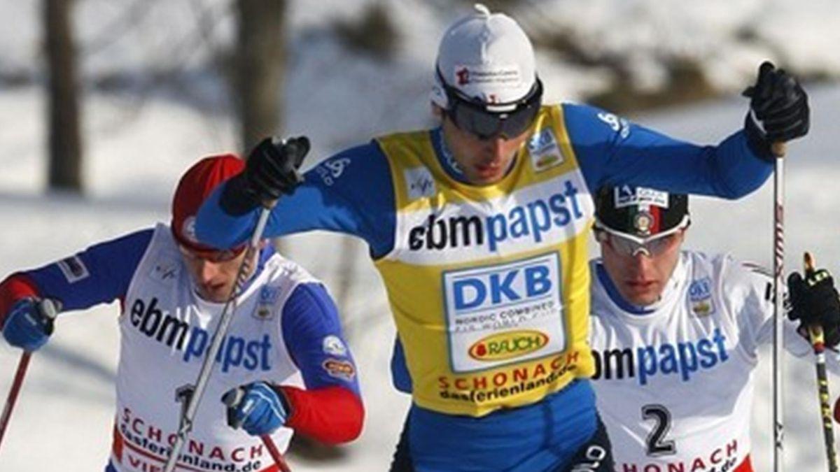 COMBINE NORDIQUE 2009-2010 Schonach Lamy-Chappuis