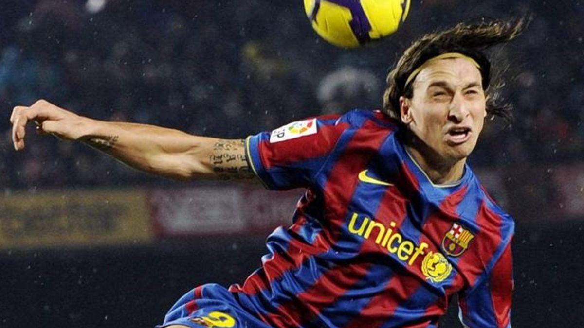 2009-10 La Liga Barcelona Zlatan Ibrahimovic (NOT IN FRA, ITA)