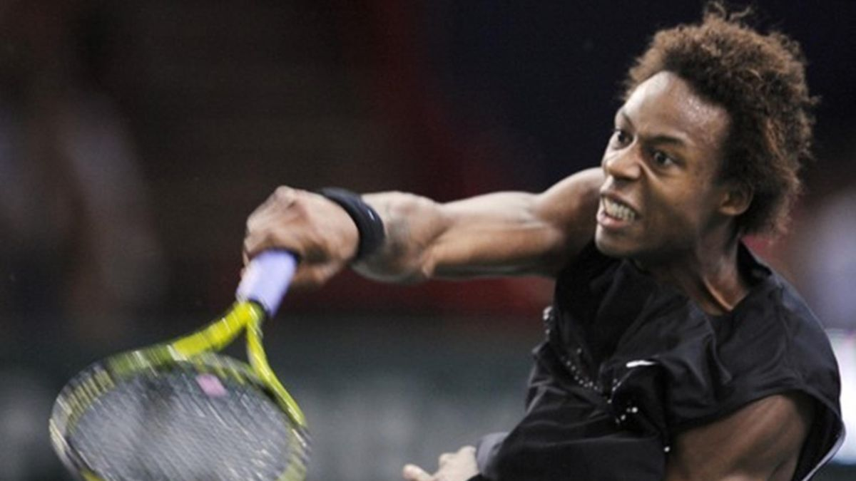 2010 ATP Rotterdam Gael Monfils