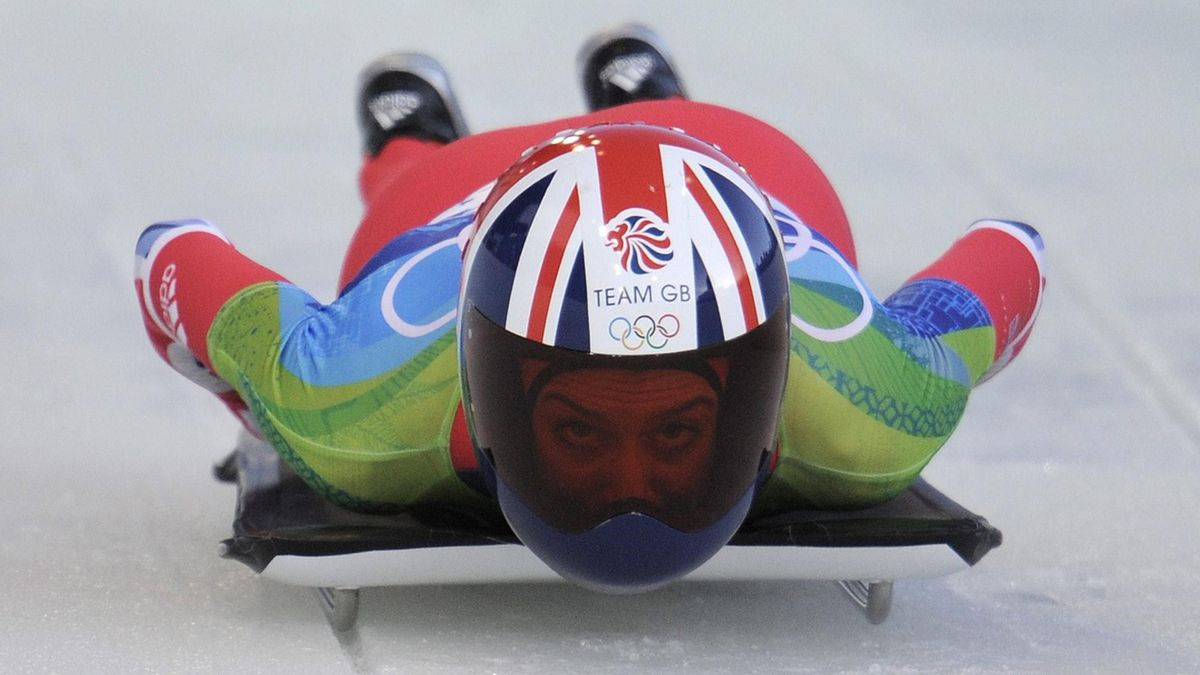 Olympic Games 2010 Vancouver Skeleton Amy Williams Feature