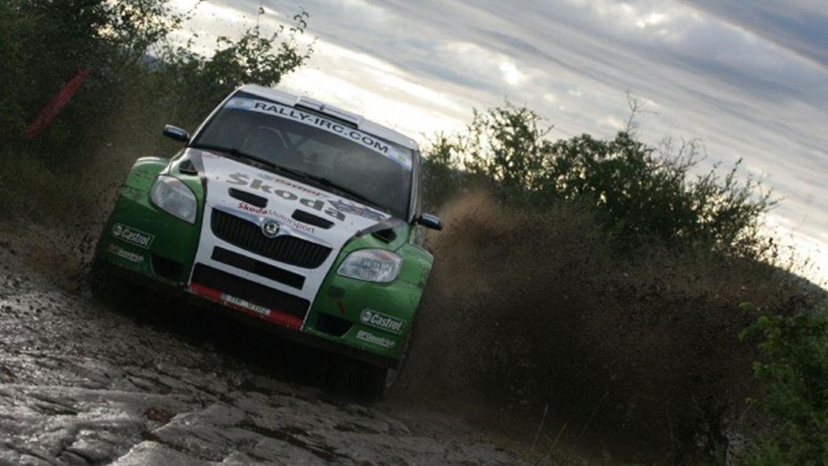 2010 Argentina Rally Skoda Hanninen