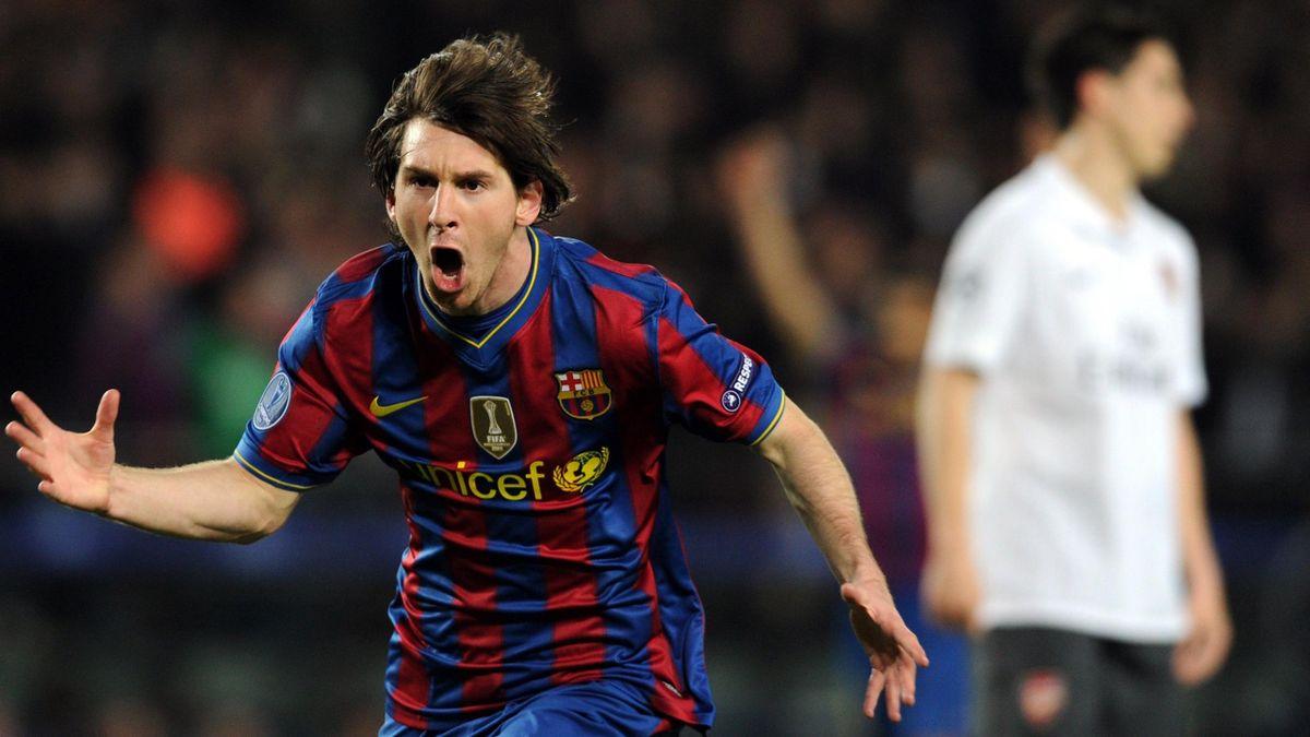FOOTBALL 2010 Barcelona-Arsenal (Messi)