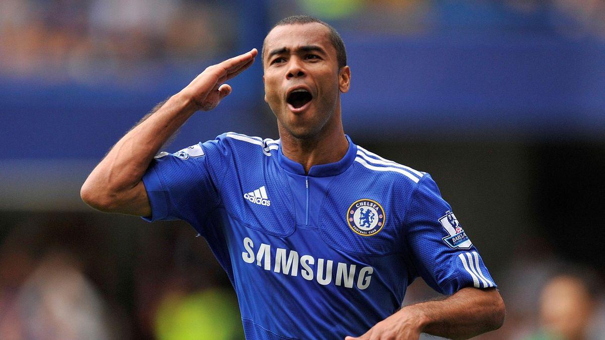 FOOTBALL Chelsea midfielder Ashley Cole