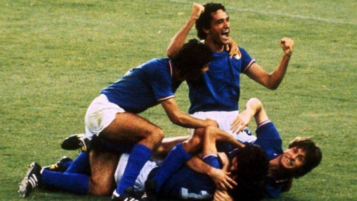 1982: Italia conquista su tercer título en España - Eurosport