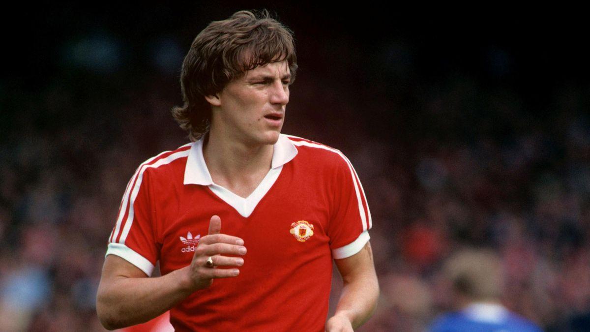 1980 Manchester United Steve Coppell