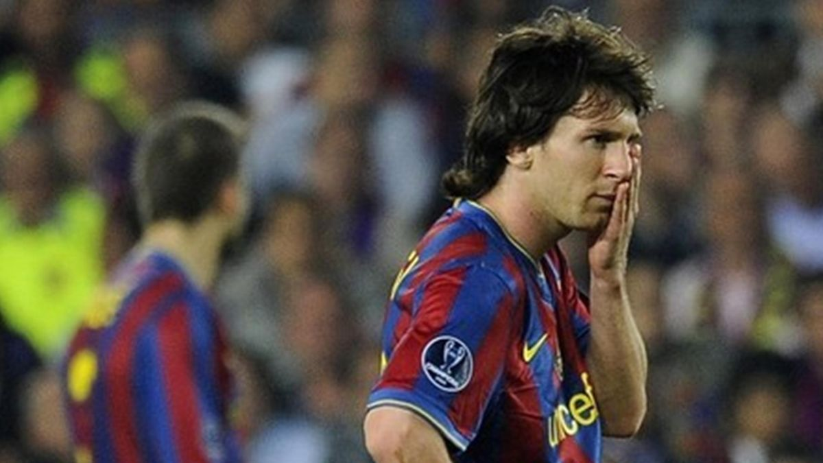 2010 Ligue des champions Barcelone Leo Messi
