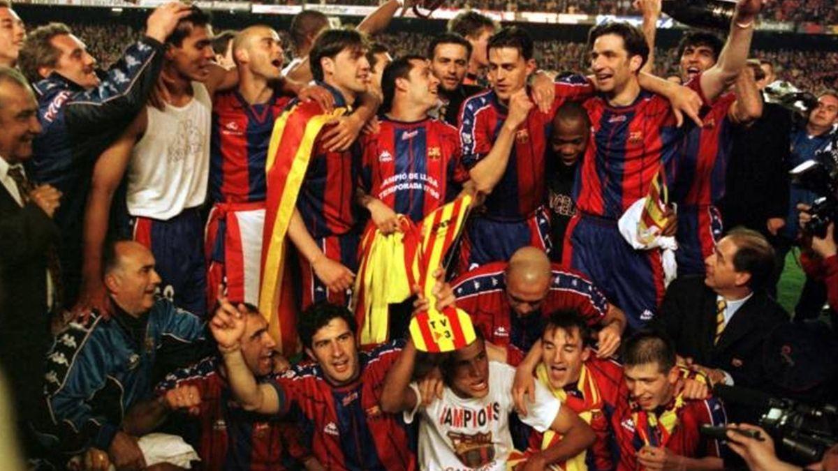 FÚTBOL Barcelona 1998