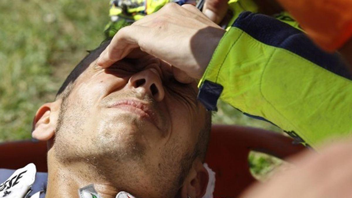 Motorcycling - Valentino Rossi Injured