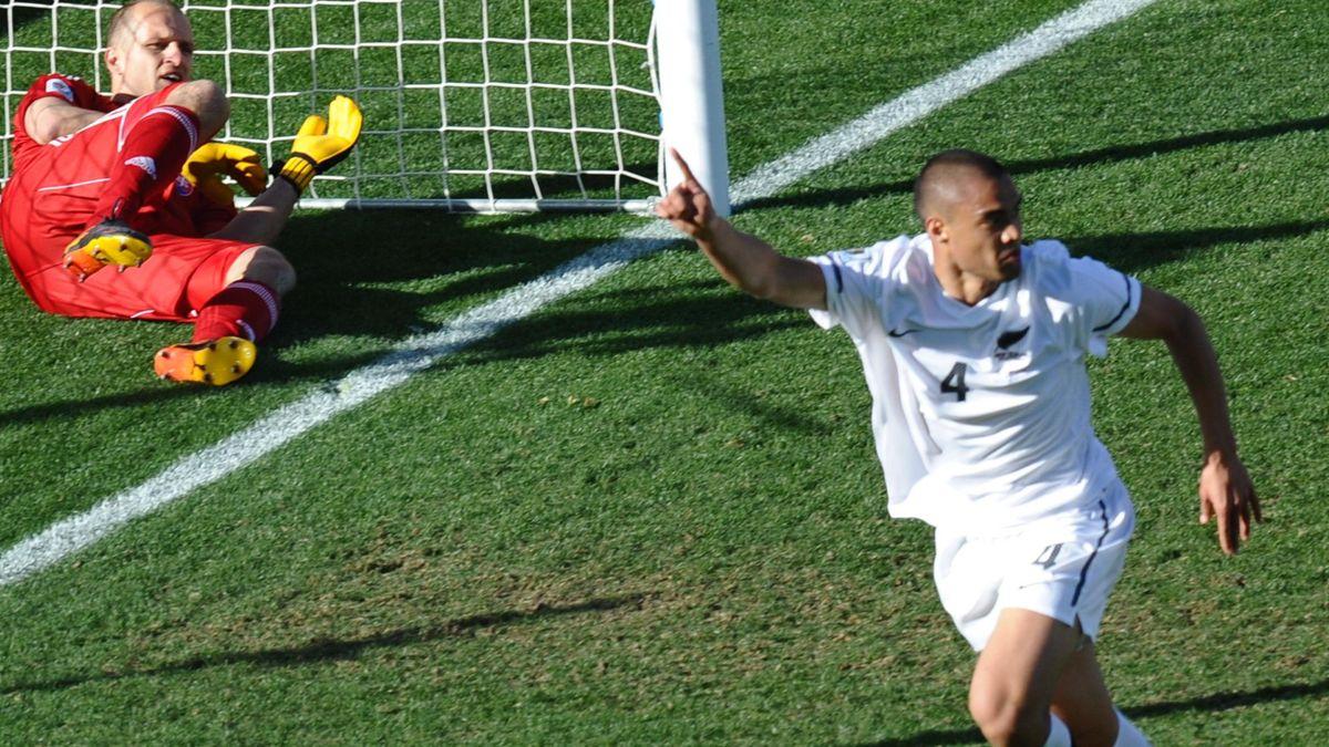 Winston Reid New Zealand scores v Slovakia