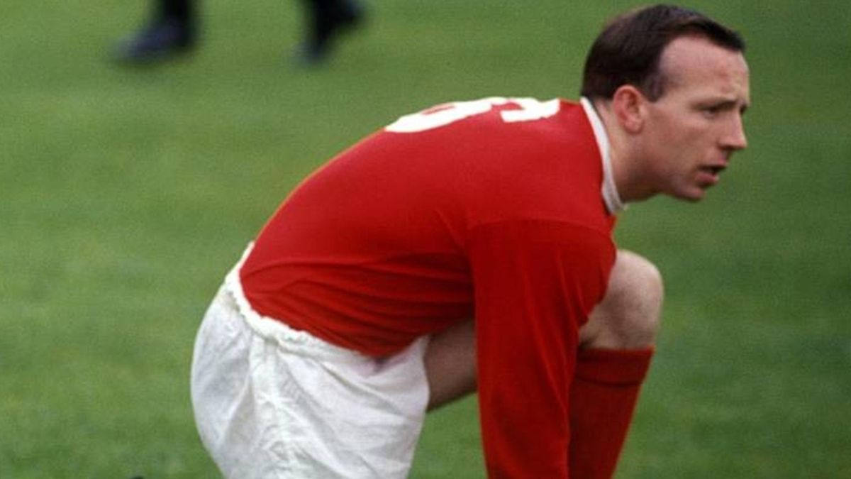 Nobby Stiles Manchester United and England in 1965
